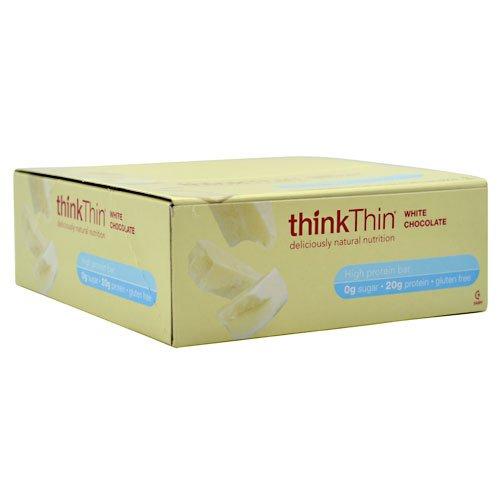 Chocolate White Thin (thinkThin® White Chocolate High Protein Bar - 10 Count)