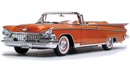 1959 Buick Electra 225 Convertible, Copper - Road Signature 92598 - 1/18 Scale Diecast Model Toy Car