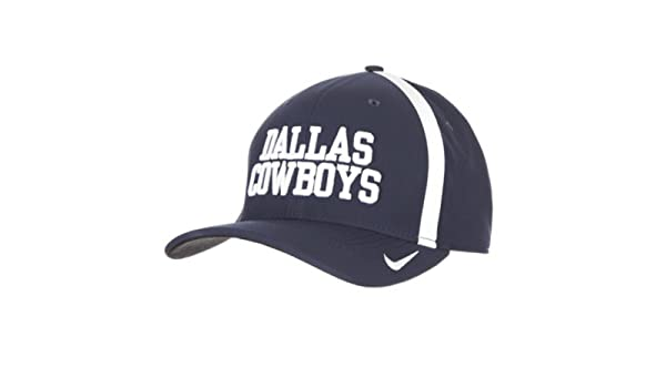 4effb26bf24f82 Amazon.com : Dallas Cowboys Nike Aerobill Classic 99 Swooshflex Cap :  Sports & Outdoors