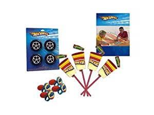 Hot Wheels Racing Cars Boys Birthday Party Favors Assortment for 4 Guests
