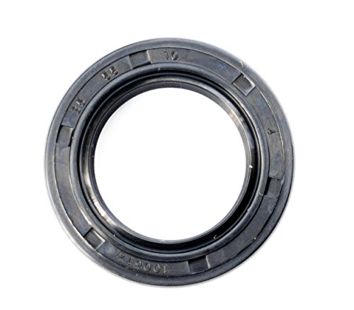 Oil Seal and Grease Seal TC 35X55X10 Rubber Double Lip with Spring 35mmX55mmX10mm by EAI Parts