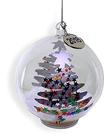Image Unavailable. Image not available for. Color: BANBERRY DESIGNS Dated  Christmas Ball Ornament ... - Amazon.com: BANBERRY DESIGNS Dated Christmas Ball Ornament - 2018