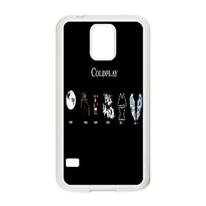 Custom Coldplay S5 Phone Case, Coldplay DIY Cell Phone Case for Samsung Galaxy S5 I9600 at Lzzcase