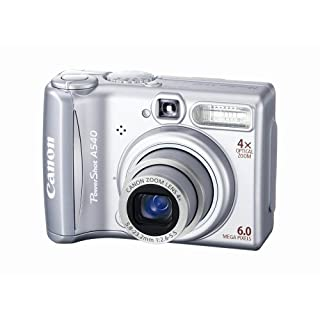 Canon PowerShot A540 6MP Digital Camera with 4x Optical Zoom