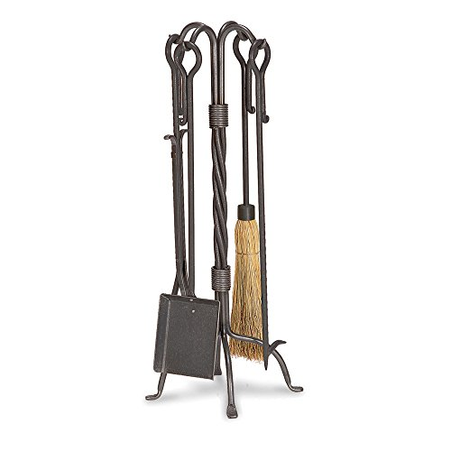 Forged Hearth (Pilgrim Home and Hearth 18007 Traditional Tool Set)