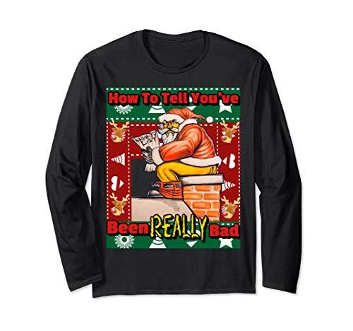 (ugly reindeer christmas bad santa sweater)