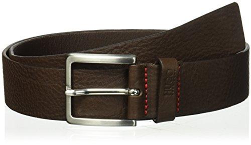 - HUGO by Hugo Boss Men's Gionios Italian Belt, Brown, 85