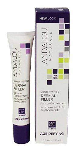 Price comparison product image Andalou Naturals Age Defying Deep Wrinkle Dermal Filler - 0.6 fl oz