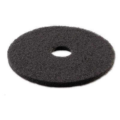 (Boardwalk 4018BLA Standard Stripping Floor Pads, 18