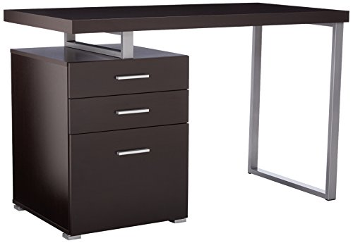 48 inch desk with drawers - 1