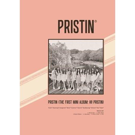 Price comparison product image PRISTIN-[HI! PRISTIN] 1st Mini Album ELASTIN VER CD+Photobook+PhotoCards+Sticker K-POP SEALED