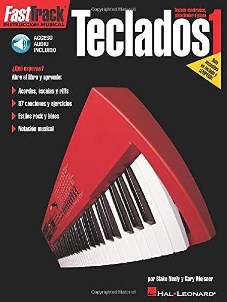 Fasttrack - teclados 1 (esp) +enregistrements online: Amazon ...