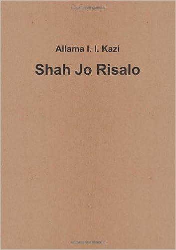 Shah Jo Risalo With Sindhi Translation Pdf