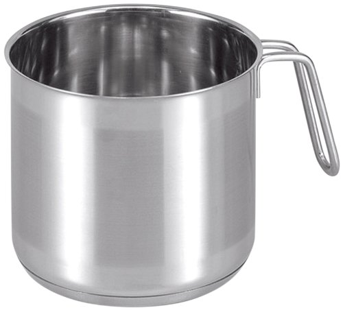 Star STAR8950 Roma Milk Pan without Lid, 14 cm, 2 L, Stainless Steel