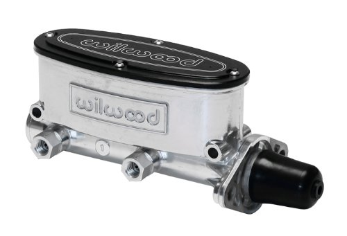Wilwood 260-8555-P 1.00'' Bore Aluminum Tandem Master Cylinder by Wilwood (Image #1)