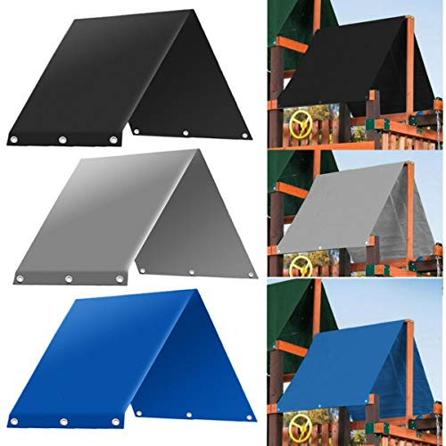 Replacement Tarp (SEVENMORE Playground Replacement Canopy, 52