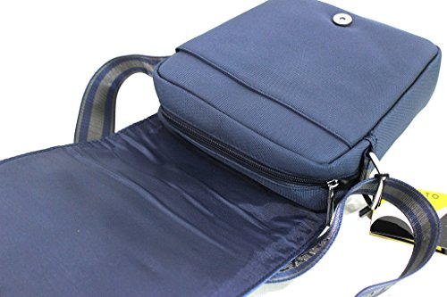 Borsello uomo Roncato tracolla con pattina bandoliera 46.58.28 blu