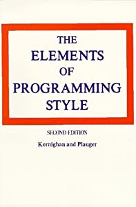 The Elements of Programming Style, 2nd Edition