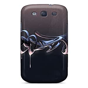 Premium 3d Liquid Back Cover Snap On Case For Galaxy S3