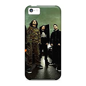 MansourMurray Iphone 5c Shock Absorbent Cell-phone Hard Cover Provide Private Custom High Resolution Gorillaz Band Skin [vEP9011yihX]