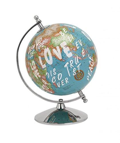Decoratively Stylish Coleman Graffiti Globe Home Desk Accessories Décor