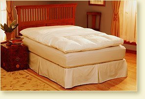 Pacific Coast Basic Feather Bed Protector- California King