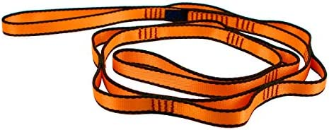 Geelife Daisy Chain Rope 2 pcs Looped Strong Straps 23 kN Climbing Nylon Daisy Chains Lanyard 53 Inches