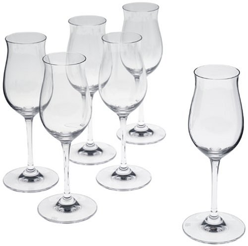 Riedel Vinum Cognac-Hennessy Glasses, Set of 6