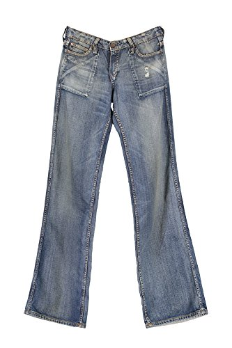 Denim Evil Azul 1181 Jeans Meltin'Pot Mujer 0TqPwFY