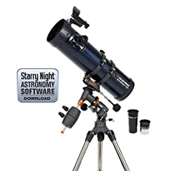 If you're looking for a dual-purpose telescope appropriate for both terrestrial and celestial viewing, then the AstroMaster Series is for you. Each AstroMaster model is capable of giving correct views of land and sky. The AstroMaster Series p...
