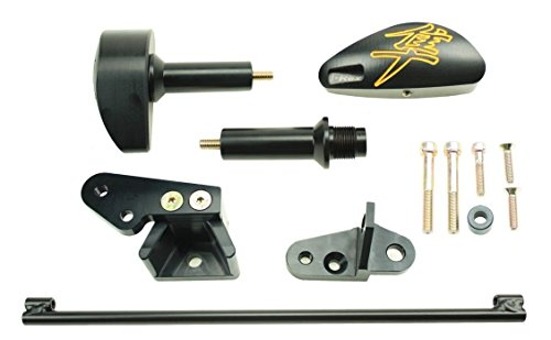 2008 - 2015 T-Rex Racing No Cut Frame Slider for Suzuki Hayabusa GSXR1300 - Yellow (Hayabusa Gsxr1300)