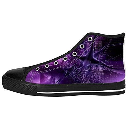 Ginnastica Women's stereoscopica Scarpe I Tetto Scarpe 3D Scarpe da delle Custom Alto Lacci Shoes Canvas Stampa Rp1tpqwO