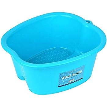 Mantello Foot Wash Basin Foot Spa Bucket Large Foot Soaking Tub, Pedicure, Detox, Massage