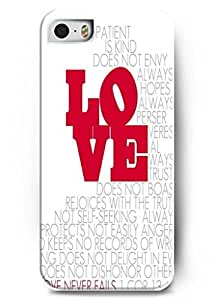 For iphone 6 plus 5.5 case Faith Religious Christian Inspirational Quote Design Red Love - For iphone 6 plus 5.5 Case Cover Protection