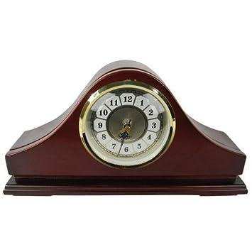 mantle clock color hidden camera with dvr - Mantle Clock