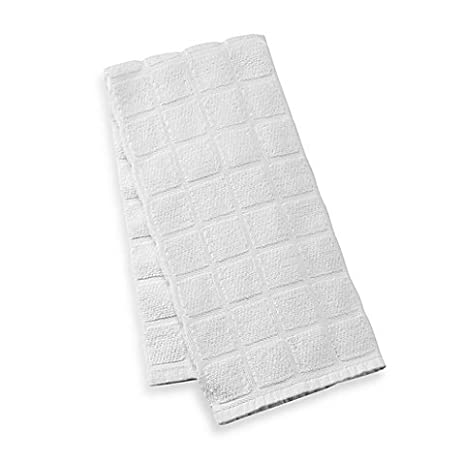 Kitchensmart® Solid Kitchen Towel (White)