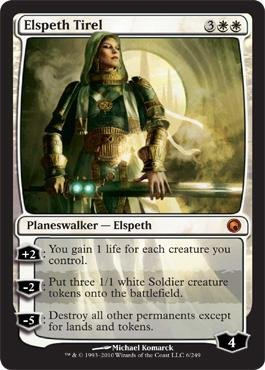 Magic: the Gathering - Elspeth Tirel - Scars of Mirrodin