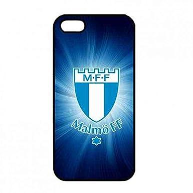Malm FF iPhone 5 5S Carcasa Tapa, Malmö FF logo Tapa Trasera ...