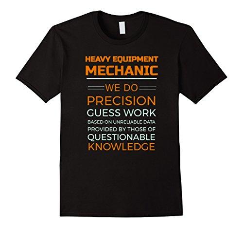 Mens Heavy Equipment Mechanic Diesel Logging T-shirt Large - Mens Heavy Equipment Shirts