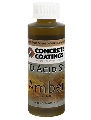 - VIVID Acid Stain - 4oz - Amber (Slightly more Orange than Caramel)