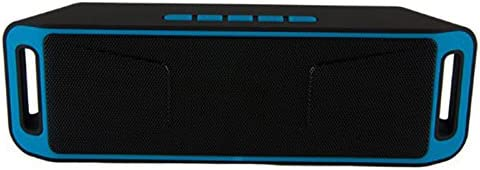 SC208 1800mAh Bluetooth 4.0 Speaker FM Super Bass Full range Sound Stereo Blue