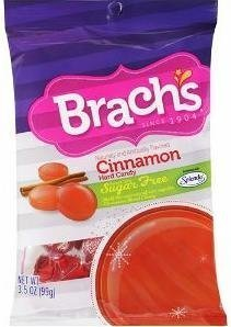 (Brach's, Sugar Free, Cinnamon Discs, Hard Candy, 3.5oz Bag (Pack of 6) by)