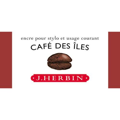 J. Herbin Fountain Pen Ink 30Ml Cafe Des Iles
