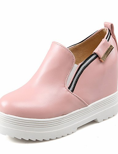 Pink A Mujer Blanco Gyht Semicuero 5 Cn43 Negro Eu37 Punta Mocasines De Pink us10 Rosa Exterior Uk4 Plataforma Zapatos 5 Moda 5 Botas us6 Uk8 7 Redonda Eu42 Cn37 La Zq 5 5 W8HnSOaS