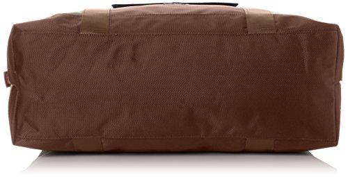 Gola Unisex-Erwachsene Windsor Henkeltaschen, 43x31x14 cm Grün (Dark Khaki/Brown)