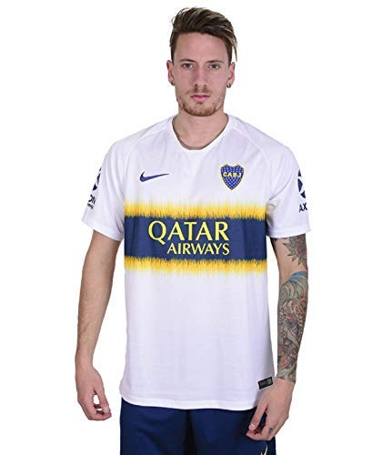 1e25b1a82 Nike Men s Soccer Boca Juniors Away Jersey (Large)