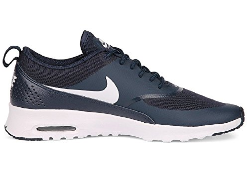 NIKE Air Max Thea Sneaker Blue/White, EU Shoe Size:EUR 38.5, Color Blue