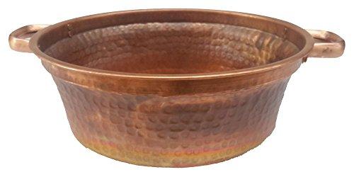 Egypt gift shops Petite Fire Burnt Foot Massage Bath Bucket Handles Pedicure Spa Styling Salon Pedicure Bowl - Pedicure Bowls