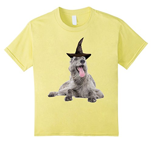 Homemade Wolf Costumes For Kids (Kids Halloween Wolfhound dog T-shirt | Funny Halloween Shirt 10 Lemon)