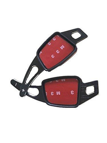 Carbon Fiber CFUS Carbon Fiber Car Steering Wheel Paddle Extension Shift Paddles Sticker Decoration Audi Q7 A4 A5 TT TTS